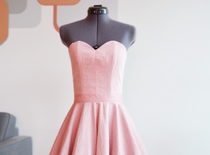 Sweetheart Bustier And Circle Skirt