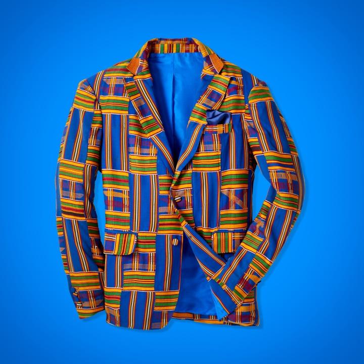 Kente Sports Jacket